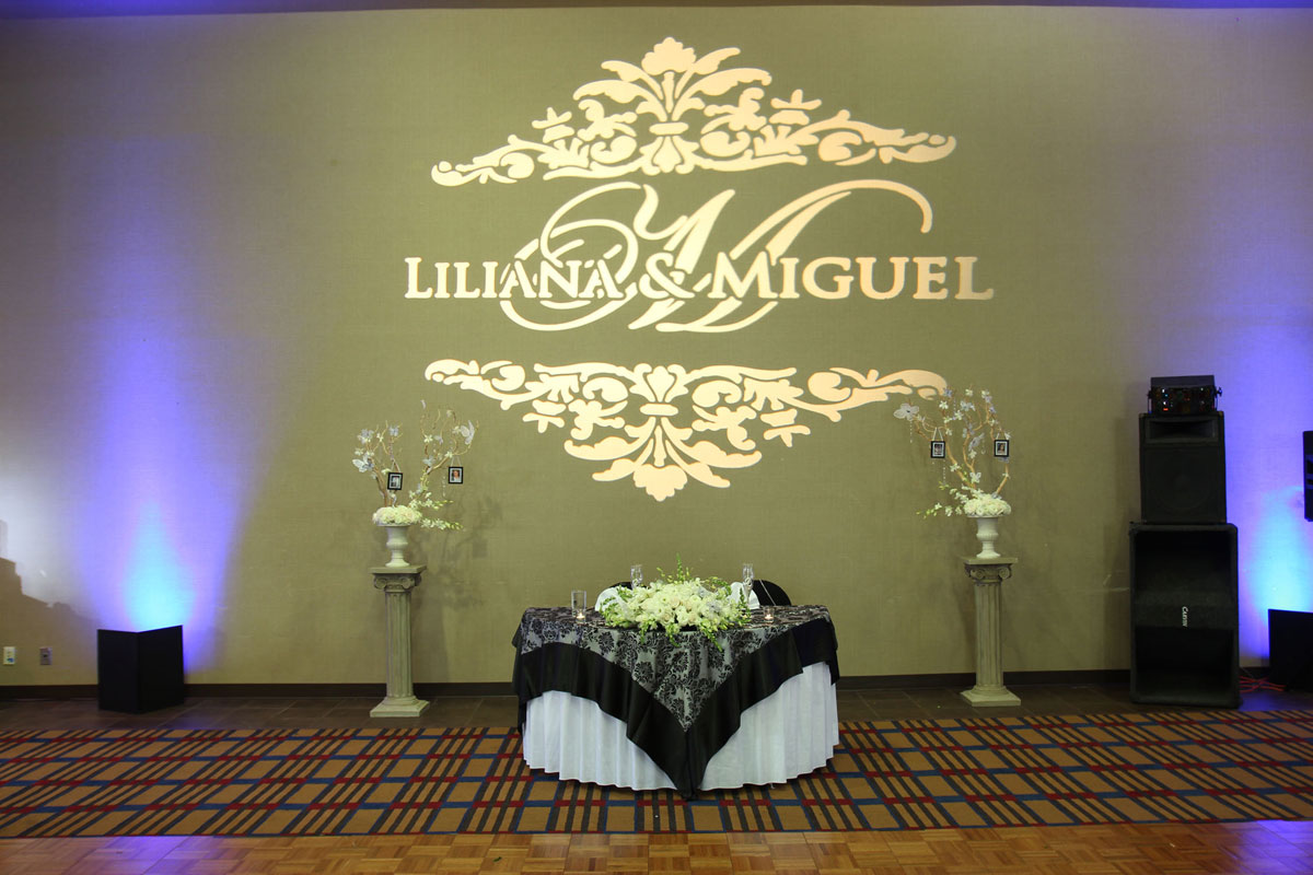 Custom Gobo Gobo Patterns San Diego Events Lighting