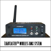 Lightcaster Wireless DMX System