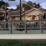 Martin Johnson House La Jolla, sparkled with Market String Lights and Foliage Uplights