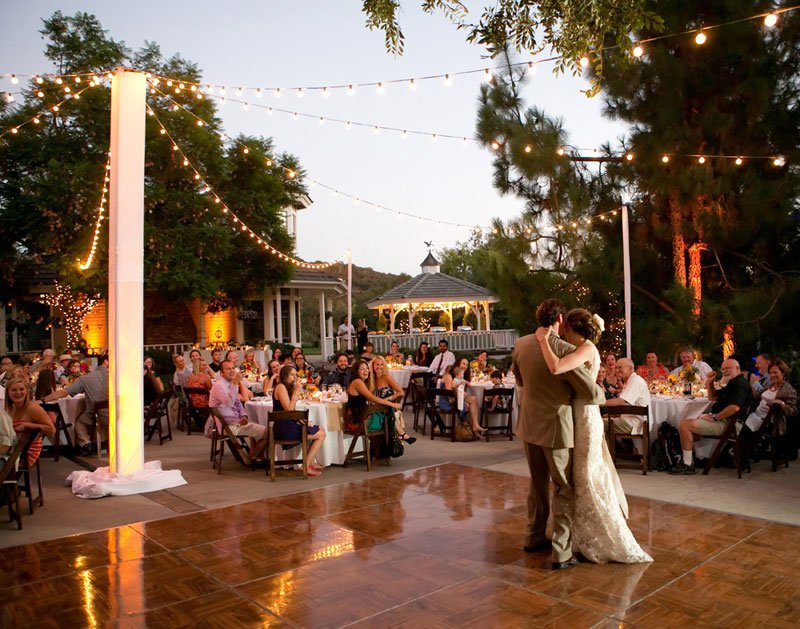 Market Lights for Outdoor Estate Wedding