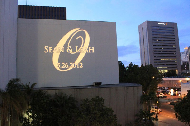 Custom Gobo San Diego Downtown