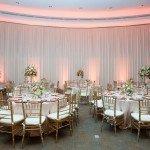 Scripps Seaside Forum Wedding|Backdrop with Uplights|Market Lights