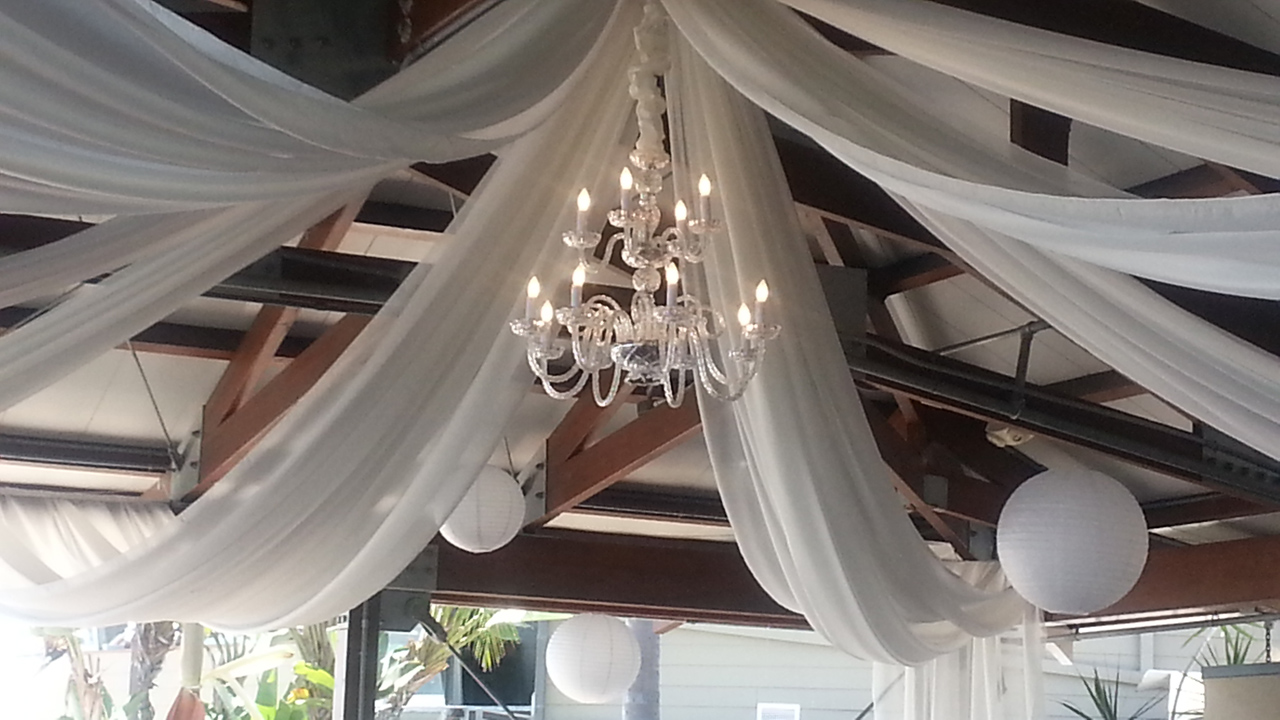 assymetrical fabric draping ceilings event pink drape for ceiling drapes tulum lighting co events rental smsender