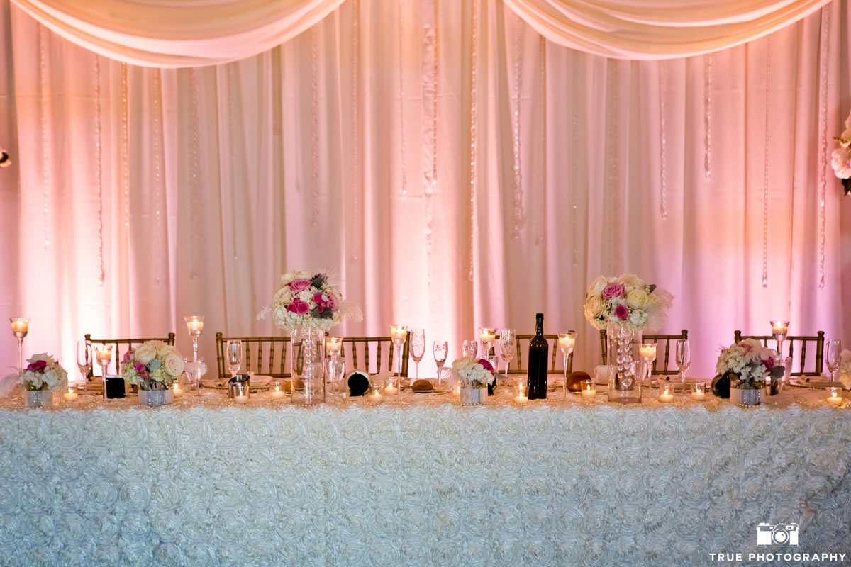 Loews Coronado Wedding Backdrop