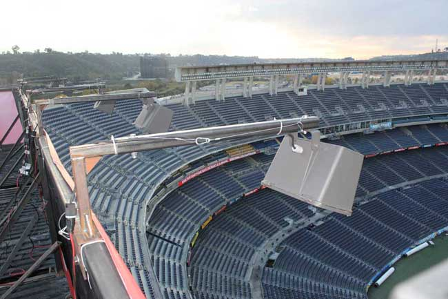 Qualcomm Stadium Outdoor Lights