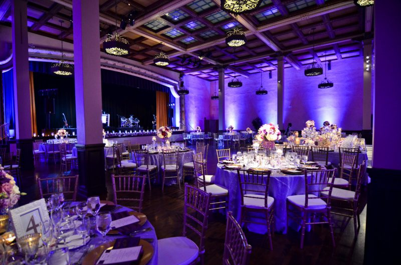 The Prado Wedding Lighting, Reception Lighting, Balboa Park