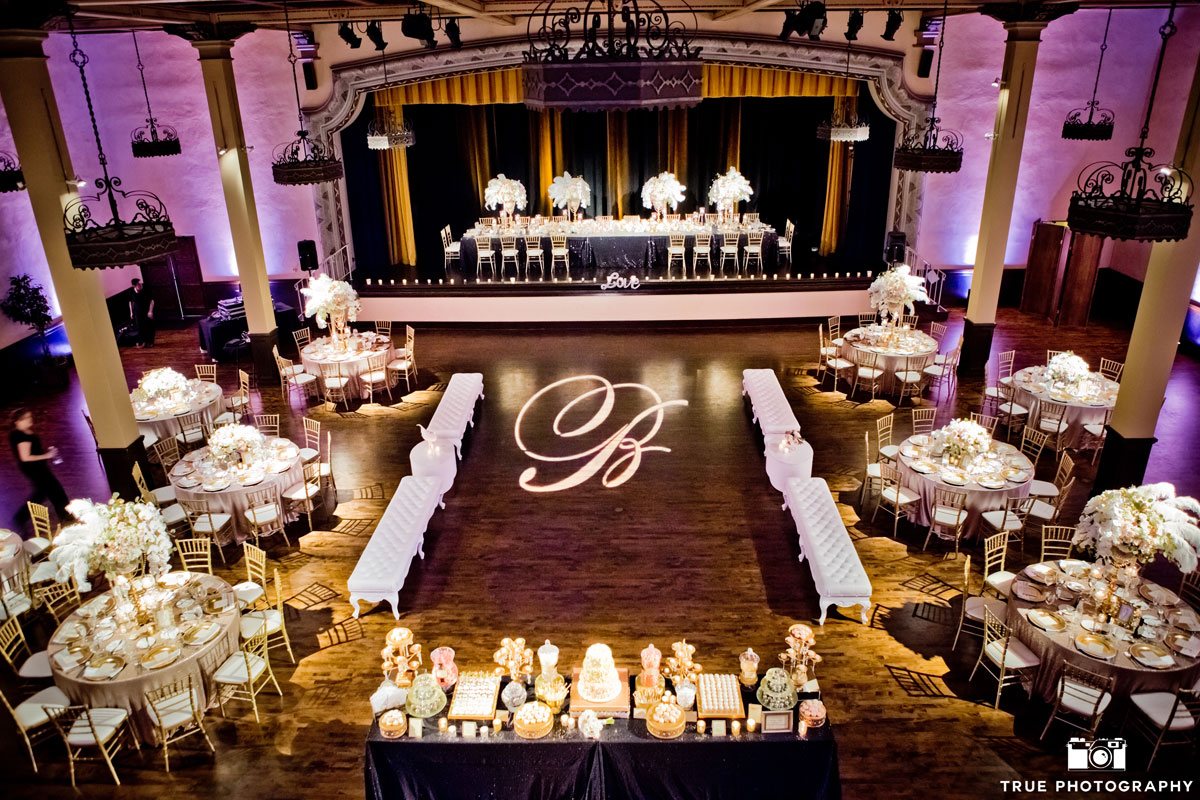 The-Prado-Grand-Ballroom-Soft-Pink-Uplights-with-Custom-Gobo