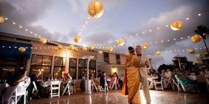 Oceanview Room, Point Loma, Wedding Lighting, Market Lights, Paper Lanterns