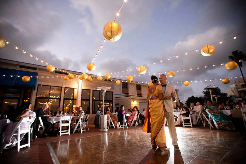 Oceanview Room-Point Loma-Wedding Lighting-Market Lights