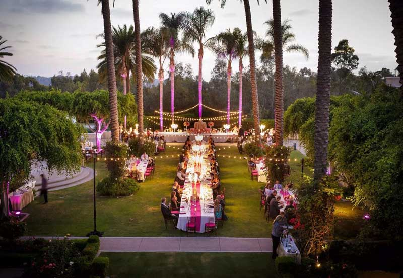 String Lights Illuminate San Diego Wedding Venues
