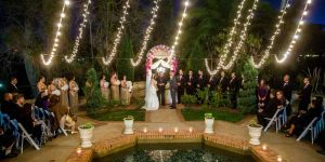 String Lights and San Diego Wedding Venues