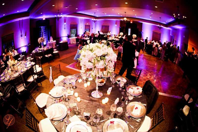 San Diego Wedding Lighting Rentals Uplights