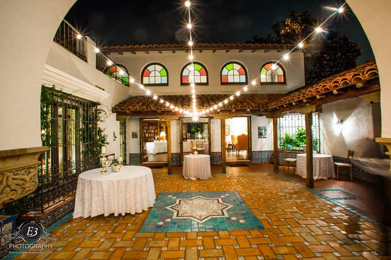 Darlington House Wedding-Lighting-Market Lights Outdoor Wedding