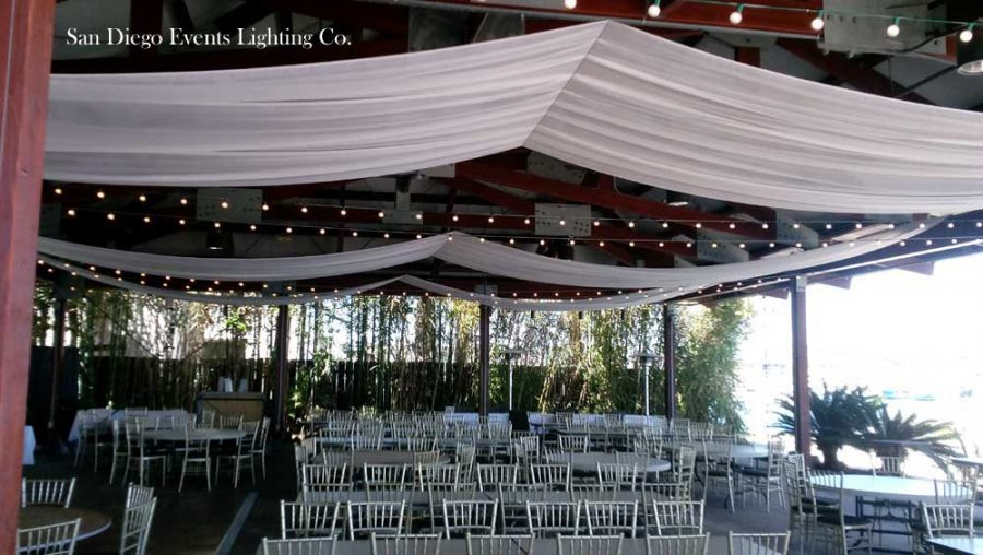 Bali Hai Wedding Photos Ceiling D With Market Lights